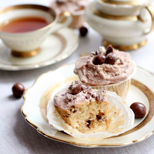 Malted Ball Cupcakes Cukrowa Wr 243 żka